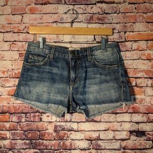 Current/Elliott quilted boyfriend shorts size 25
